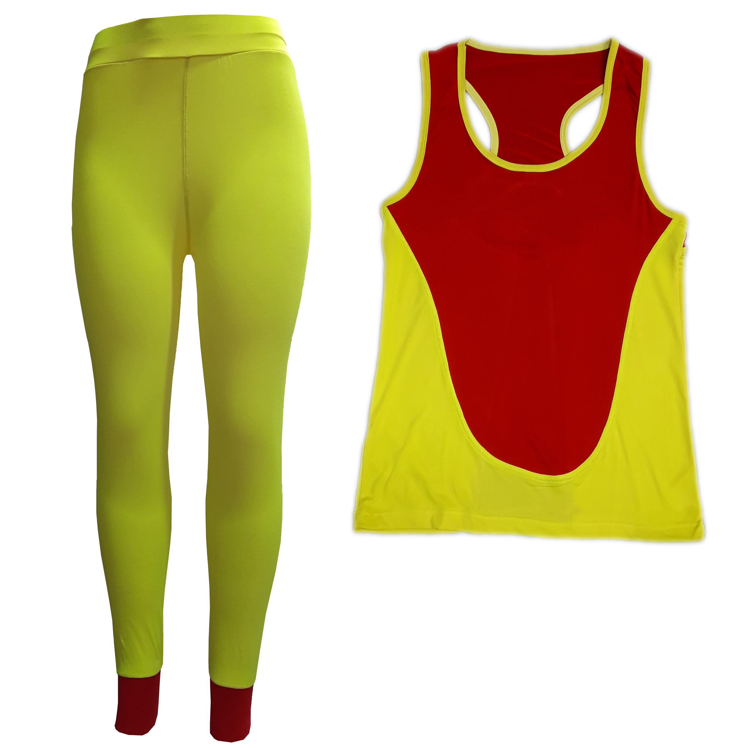 ست تاپ و شلوار ورزشی زنانه کد MOM105