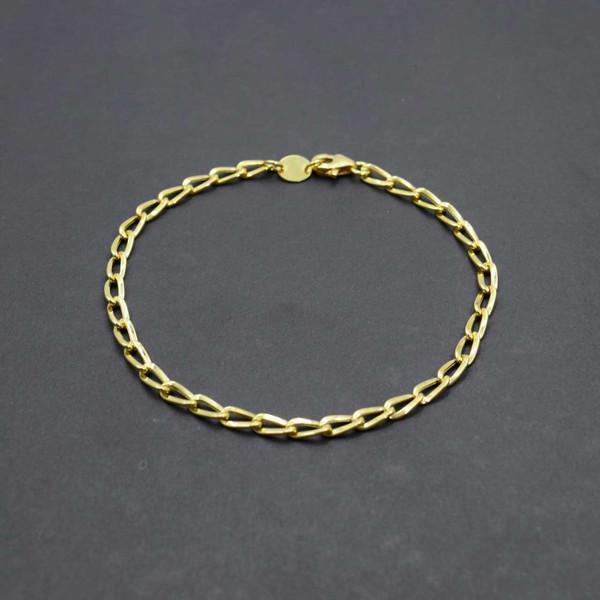 دستبند طلا 18 عیار زنانه کانیار گالری مدل B20
