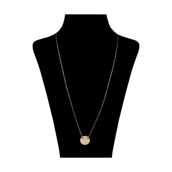 گردنبند طلا 18 عیار زنانه نیوانی مدل N1064
