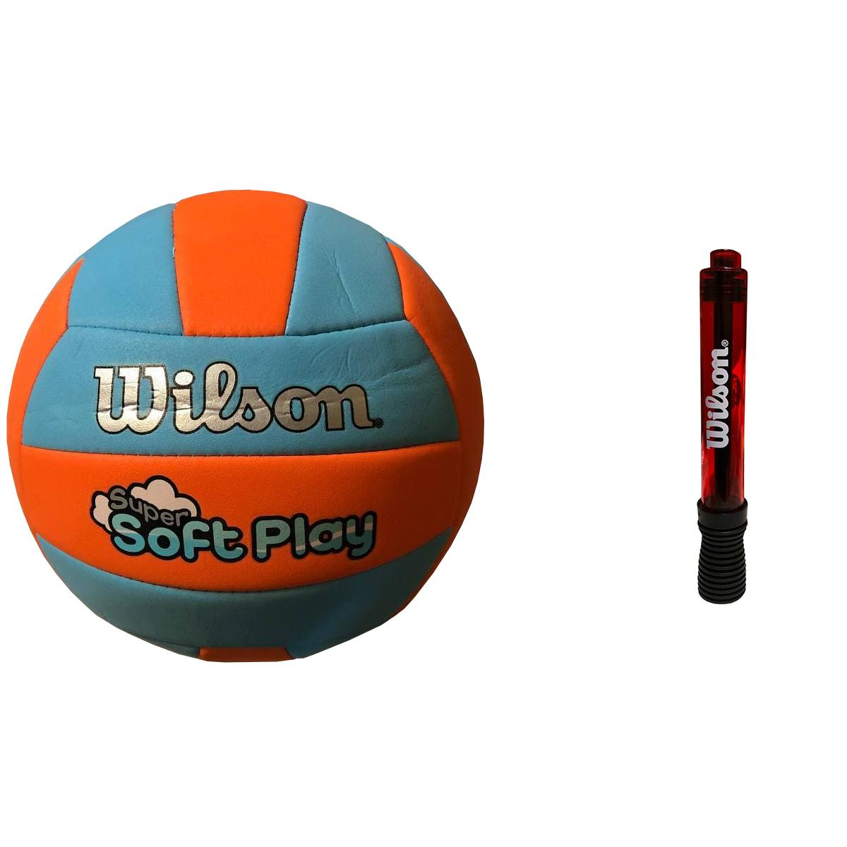 توپ والیبال ویلسون مدل WTH-3508 به همراه تلمبه