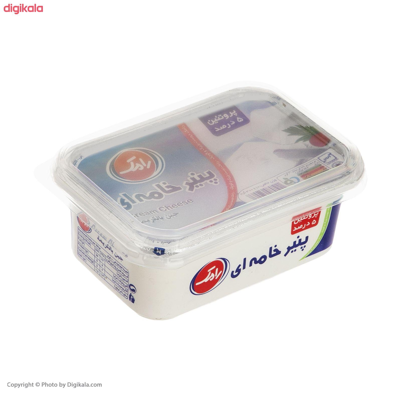 پنیر خامه ای رامک وزن 300 گرم main 1 4