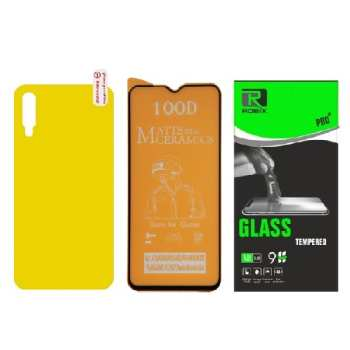 محافظ صفحه نمایش مات وپشت گوشی روبیکس مدل CR-A50مناسب برای گوشی موبایل سامسونگ Galaxy A50