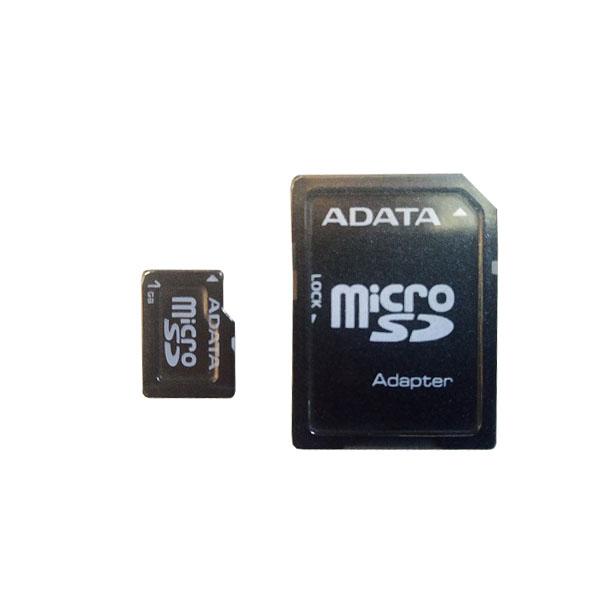 کارت حافظه microSDHC ای دیتا مدل Premier کلاس 4 استاندارد UHS-I U1 سرعت 32MBps ظرفیت 1 گیگابایت به همراه آداپتور SD