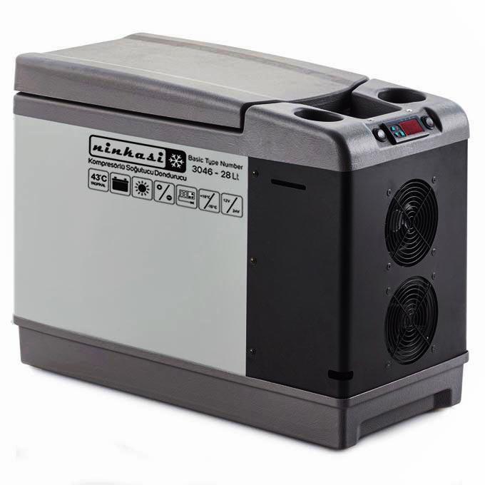 یخچال خودرو نینکاسی مدل 3046_28Lt
