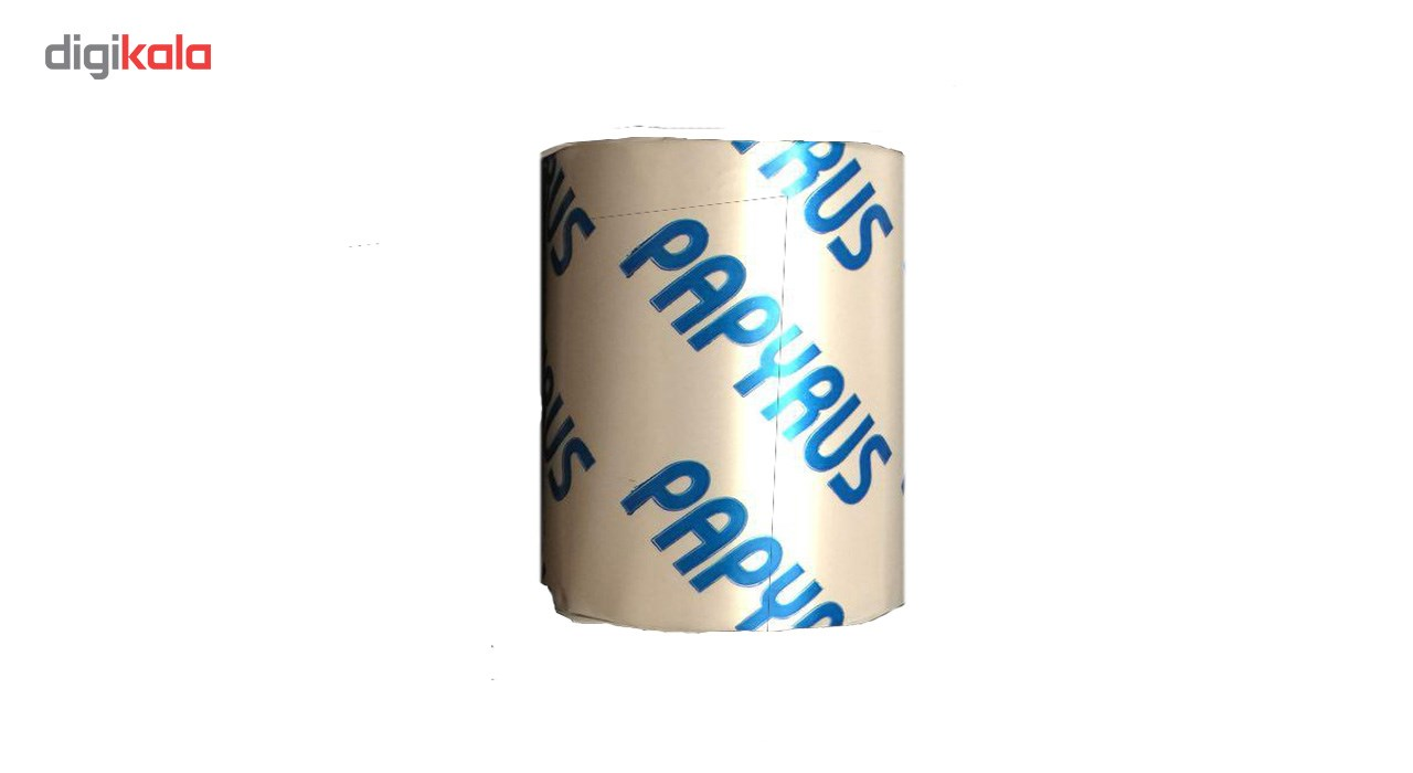 قیمت                      کاغذ مخصوص پرینتر حرارتی پاپیروس مدل 80mm بسته 10 عددی
