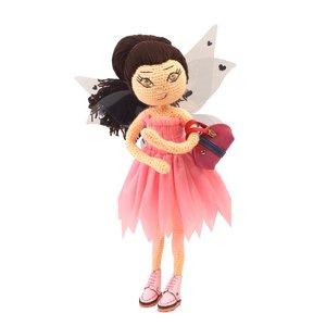 عروسک بافتنی پریا مدل Pari03