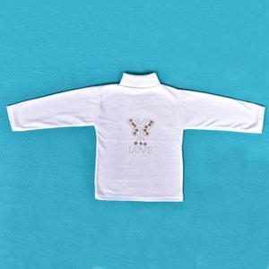 تی شرت دخترانه مدل لاو کد 1002