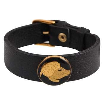 دستبند ورق طلا گالری الون طرح فروردین کد 198119