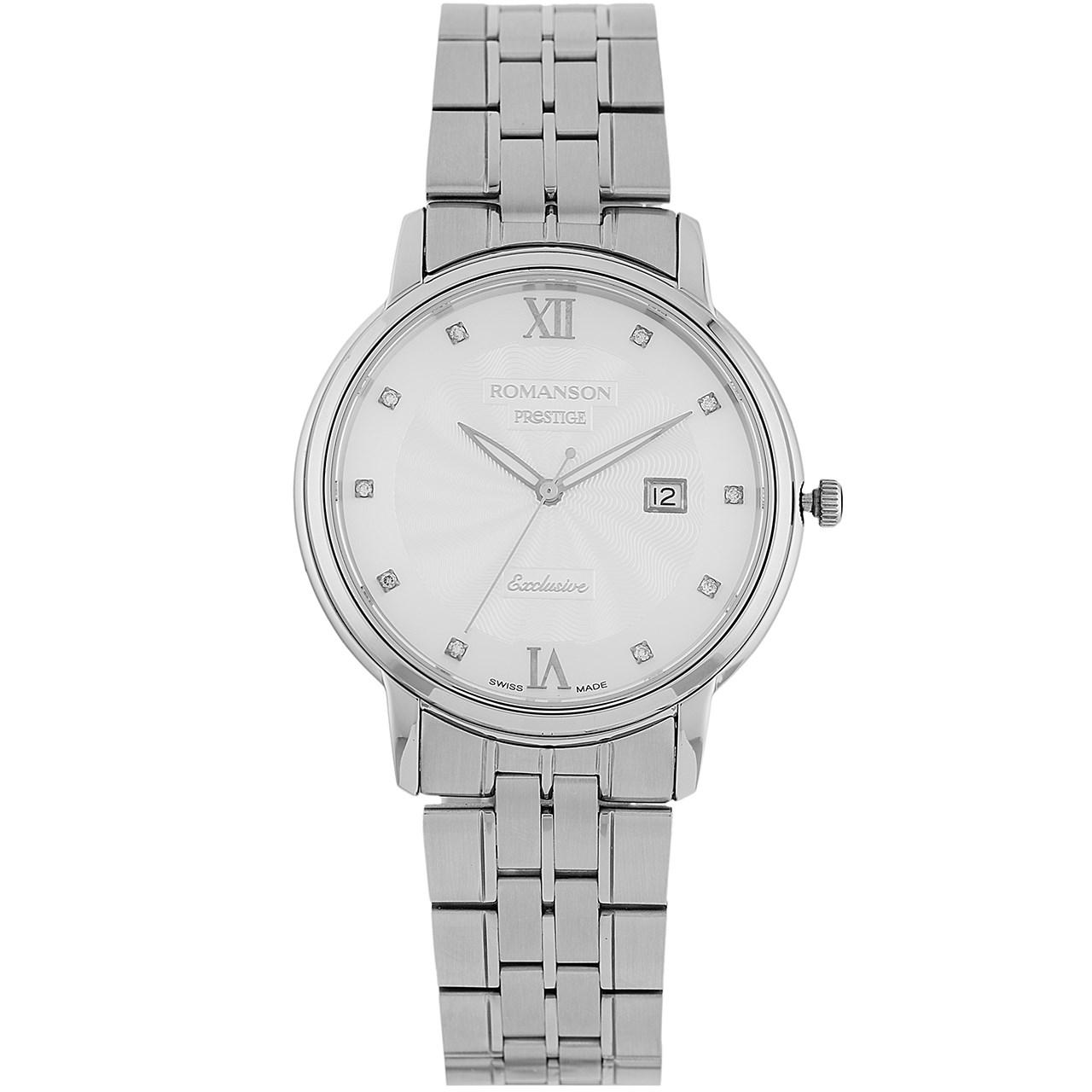 ساعت مچی عقربه ای مردانه رومانسون مدل TM3257MM1WAS2W 32