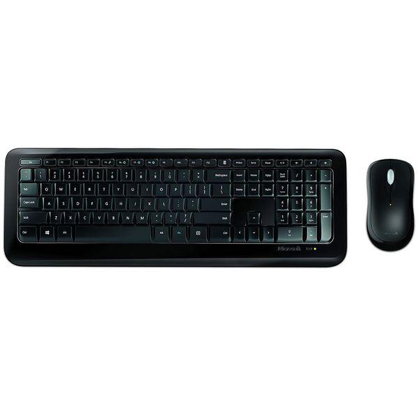 کیبورد و ماوس بیسیم مایکروسافت مدل Desktop 850 | Microsoft Wireless Desktop 850 Keyboard and Mouse