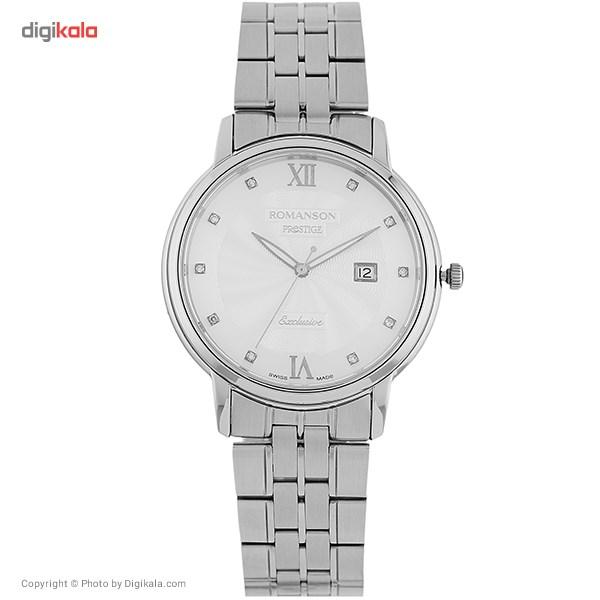 خرید ساعت مچی عقربه ای مردانه رومانسون مدل TM3257MM1WAS2W