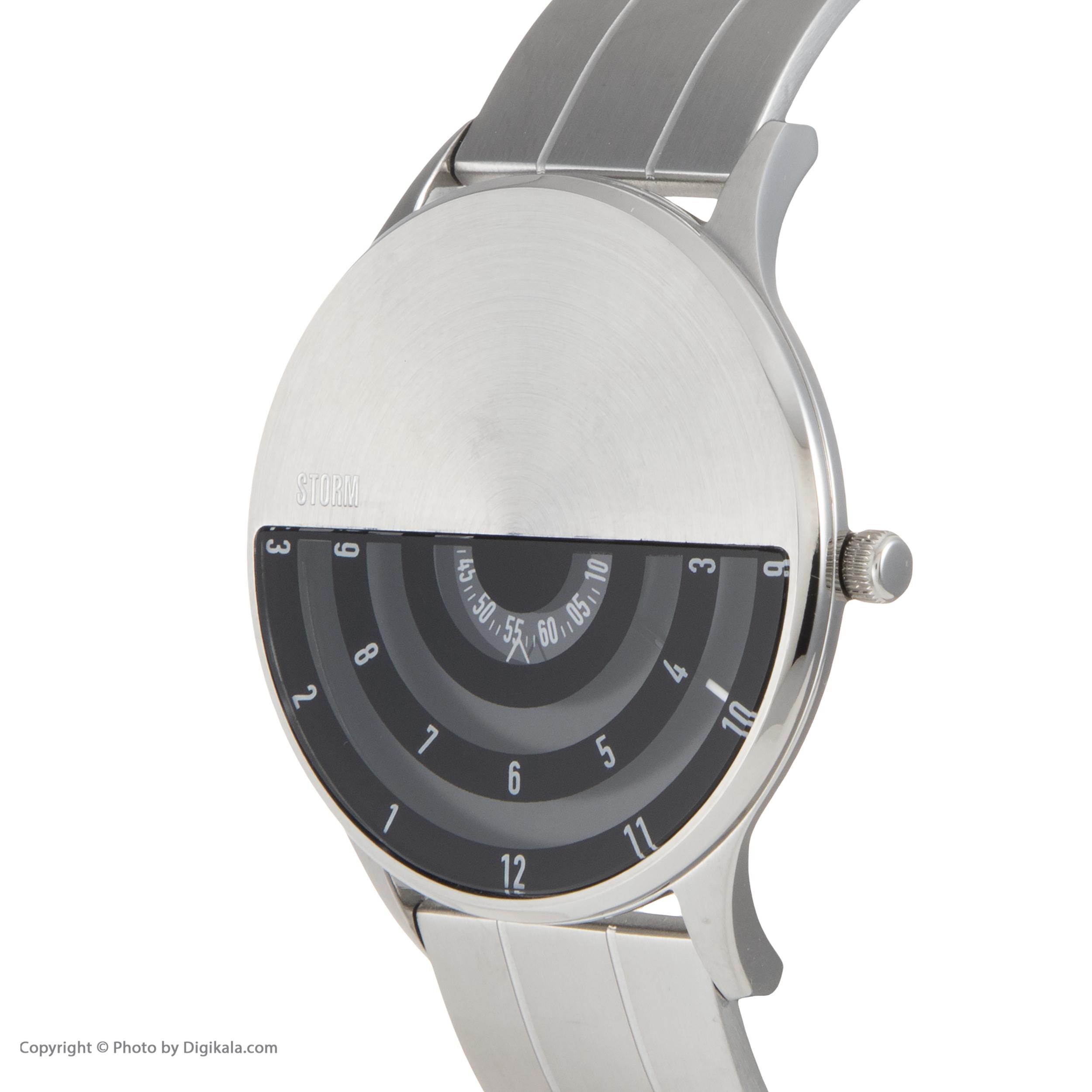 ساعت مچی عقربه ای مردانه استورم مدل ST 47443-BK