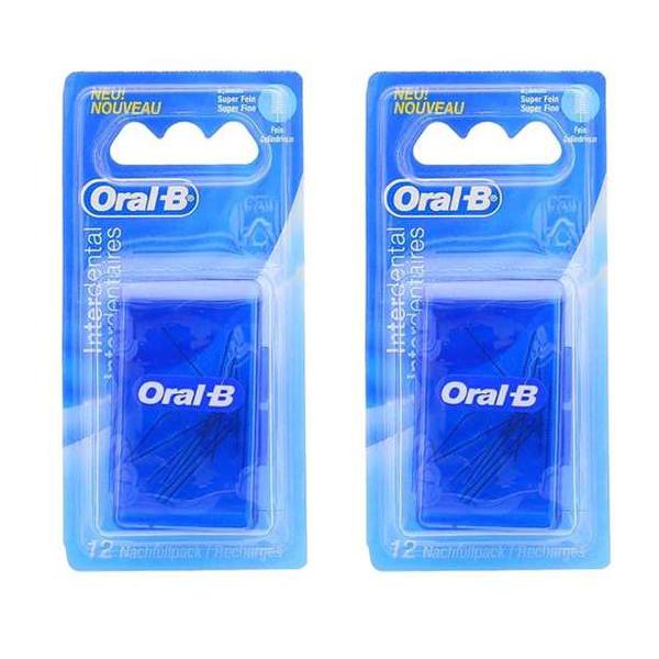 سری یدک مسواک بین دندانی اورال بی مدل 785 بسته دو عددی