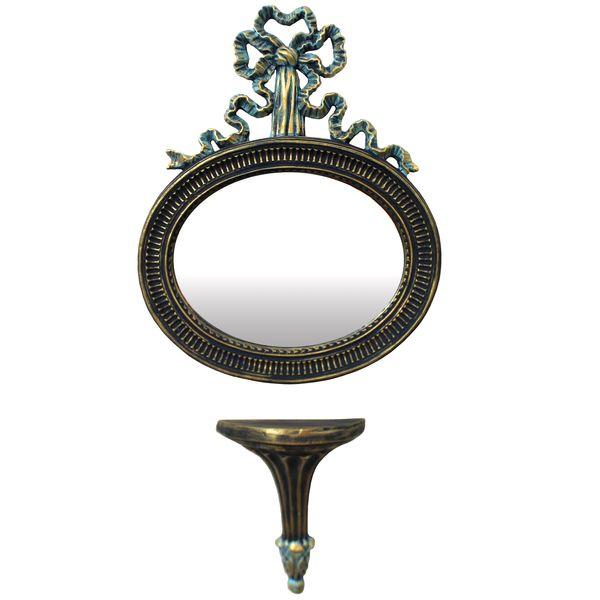 آینه و کنسول دست نگار مدل پاپیون