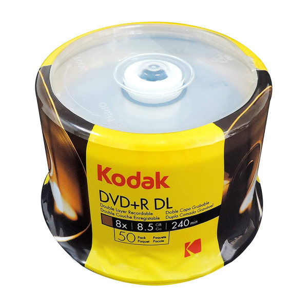 دی وی دی خام کداک مدل 8.5 بسته 50 عددی