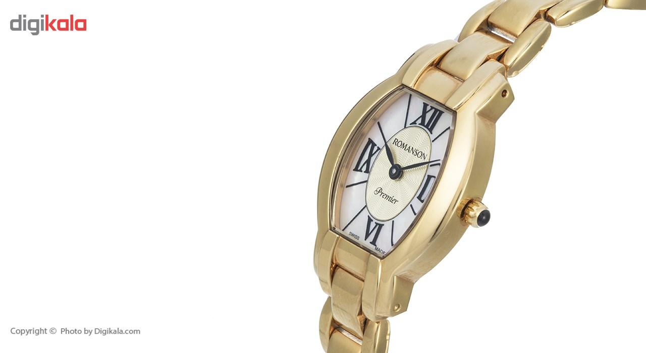 ساعت مچی عقربه ای زنانه رومانسون مدل PM6149LL1GM11B