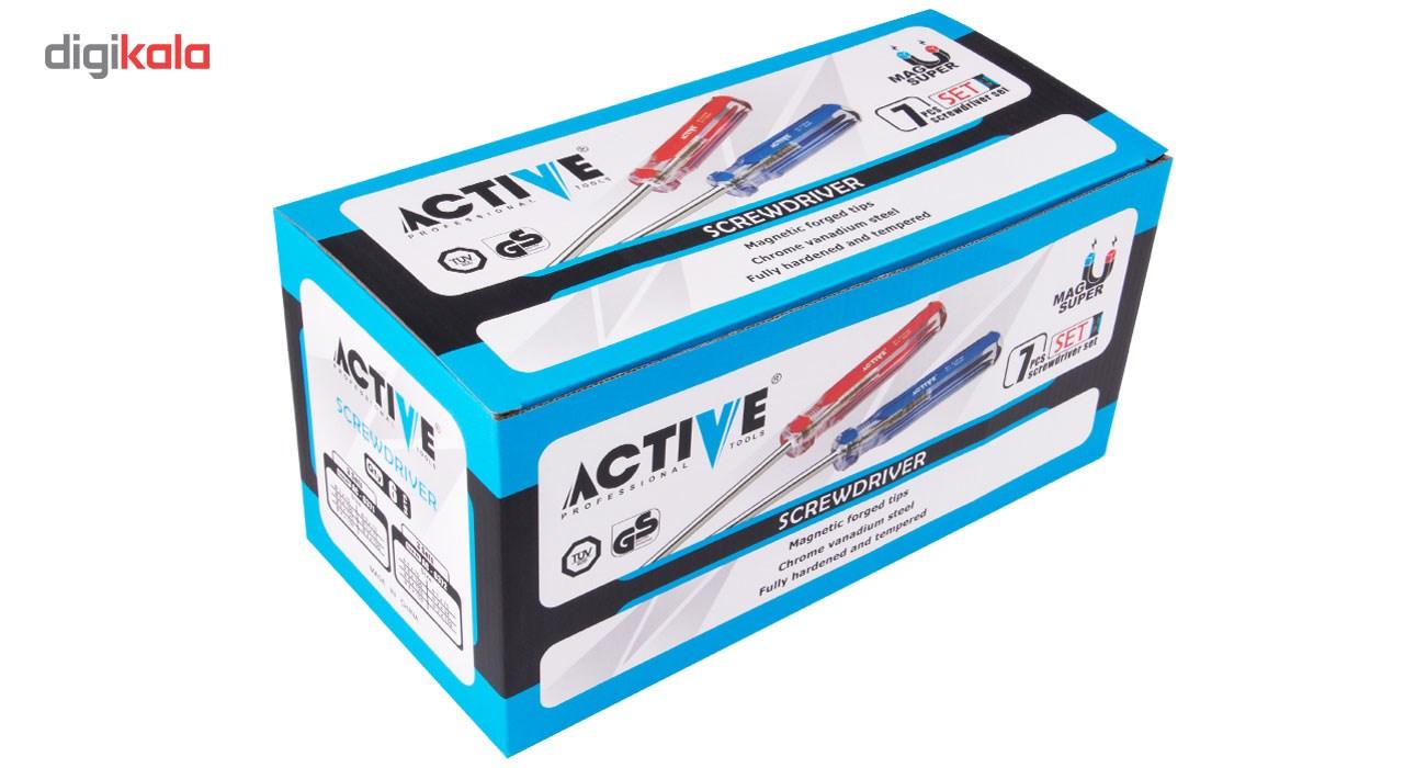 مجموعه 7 عددی پیچ گوشتی اکتیو مدل AC6371 main 1 8