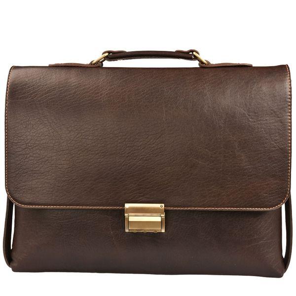 کیف اداری چرم طبیعی کهن چرم مدل L100-15