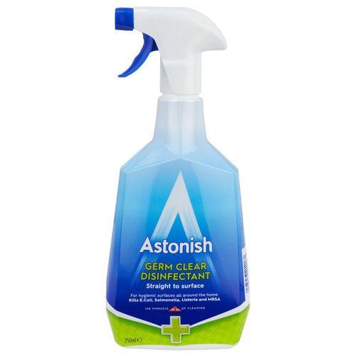 اسپری ضد عفونی کننده استونیش سری Premium مدل Germ Clear حجم 750 میلی لیتر