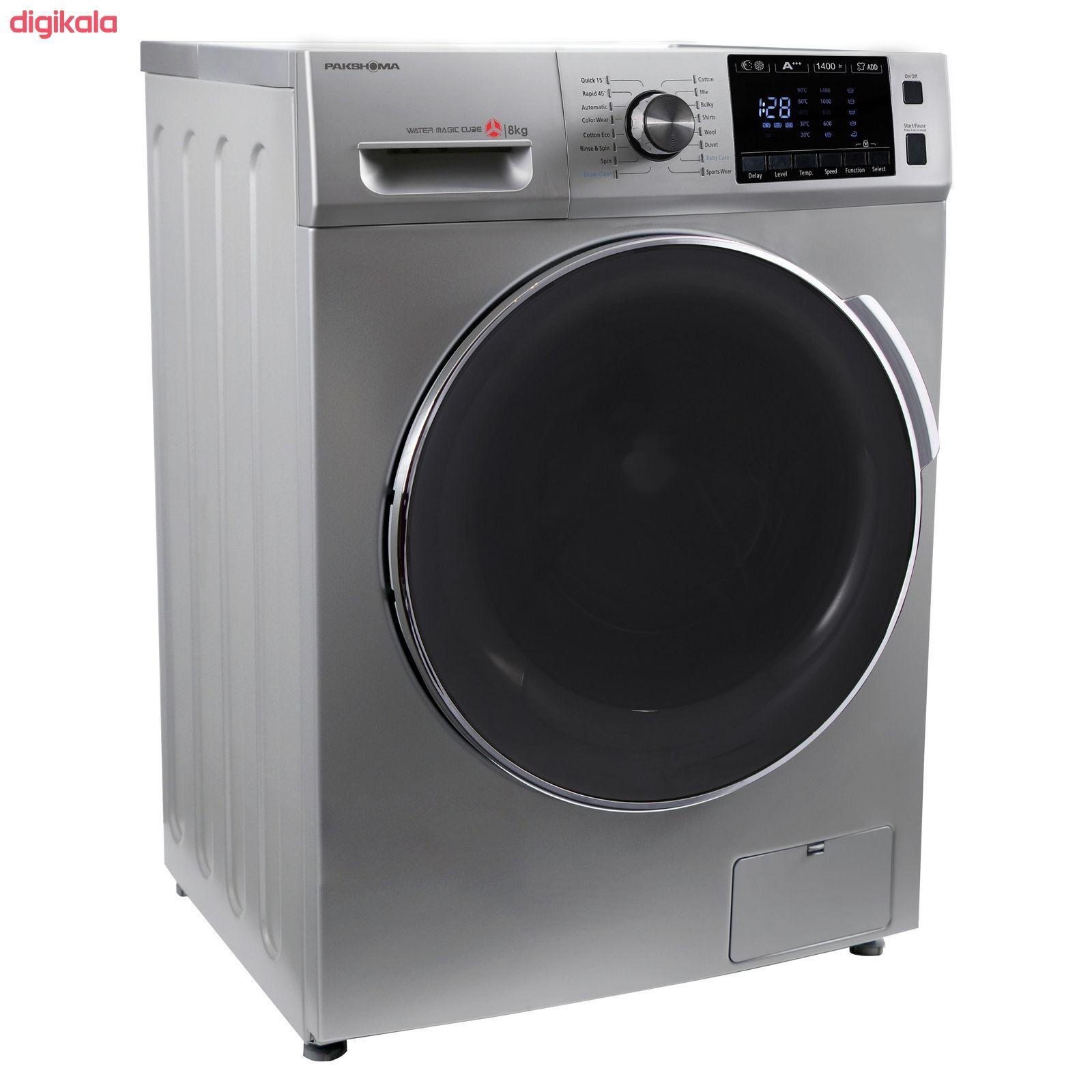 ماشین لباسشویی پاکشوما مدل TFU-84406 ظرفیت 8 کیلوگرم main 1 2