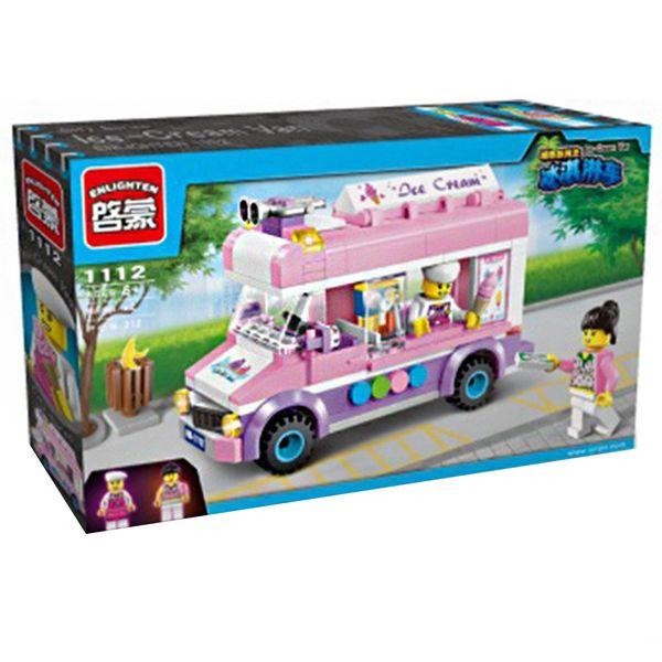 لگو بستنی فروش انلایتن مدل 1112 تعداد 213 قطعه