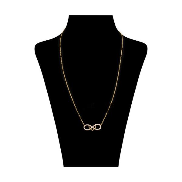 گردنبند طلا 18 عیار زنانه مدیسا مدل N3009