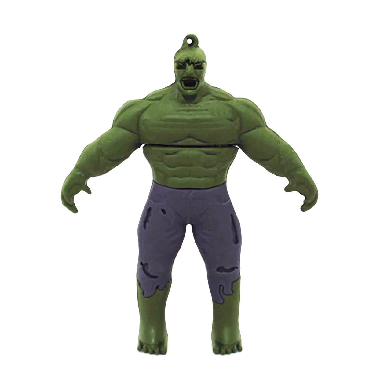 بررسی و {خرید با تخفیف} فلش مموری طرح Hulk مدل DPL1170-U3 ظرفیت 64 گیگابایت اصل