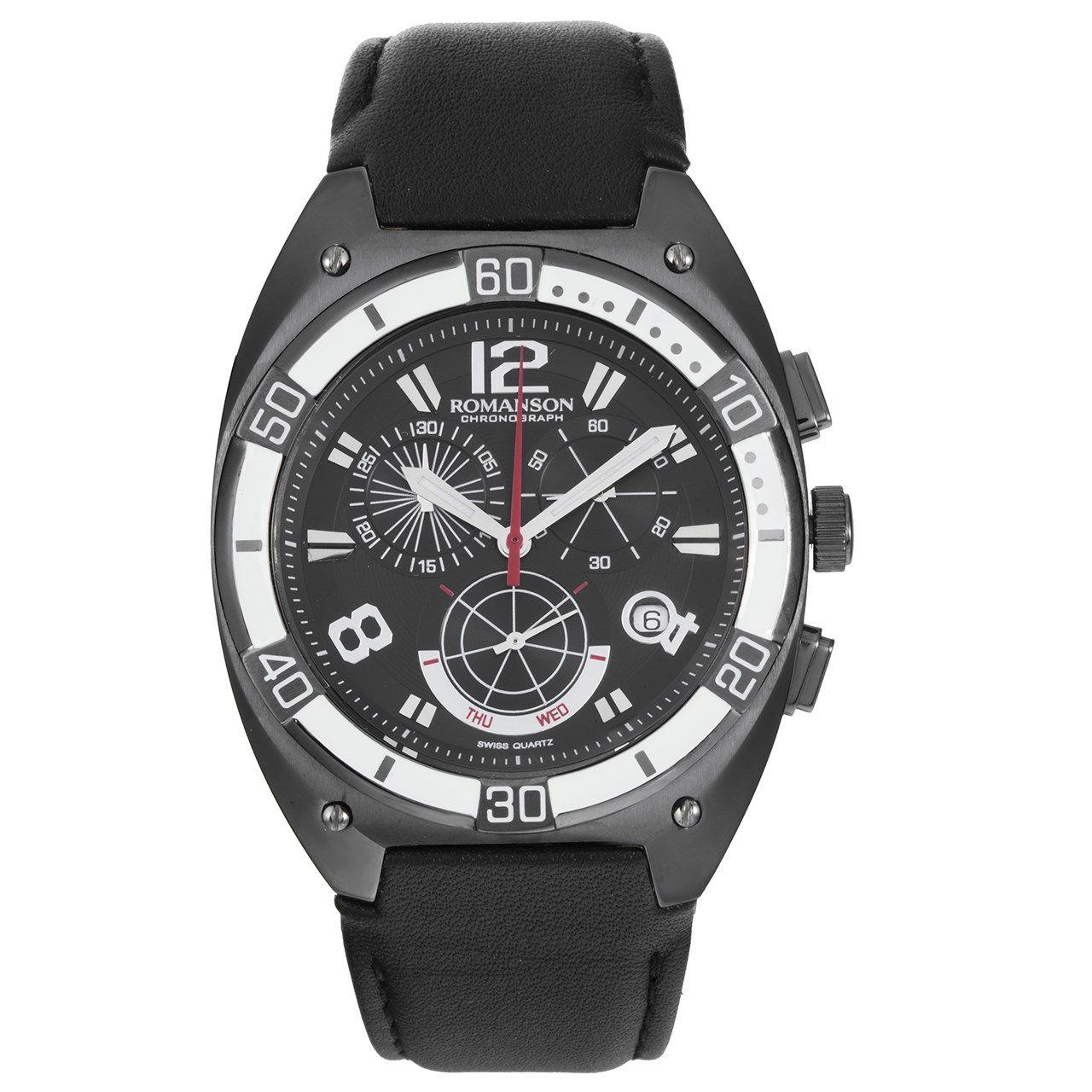 ساعت مچی عقربه ای مردانه رومانسون مدل TL1260HM1BA32W -  - 1