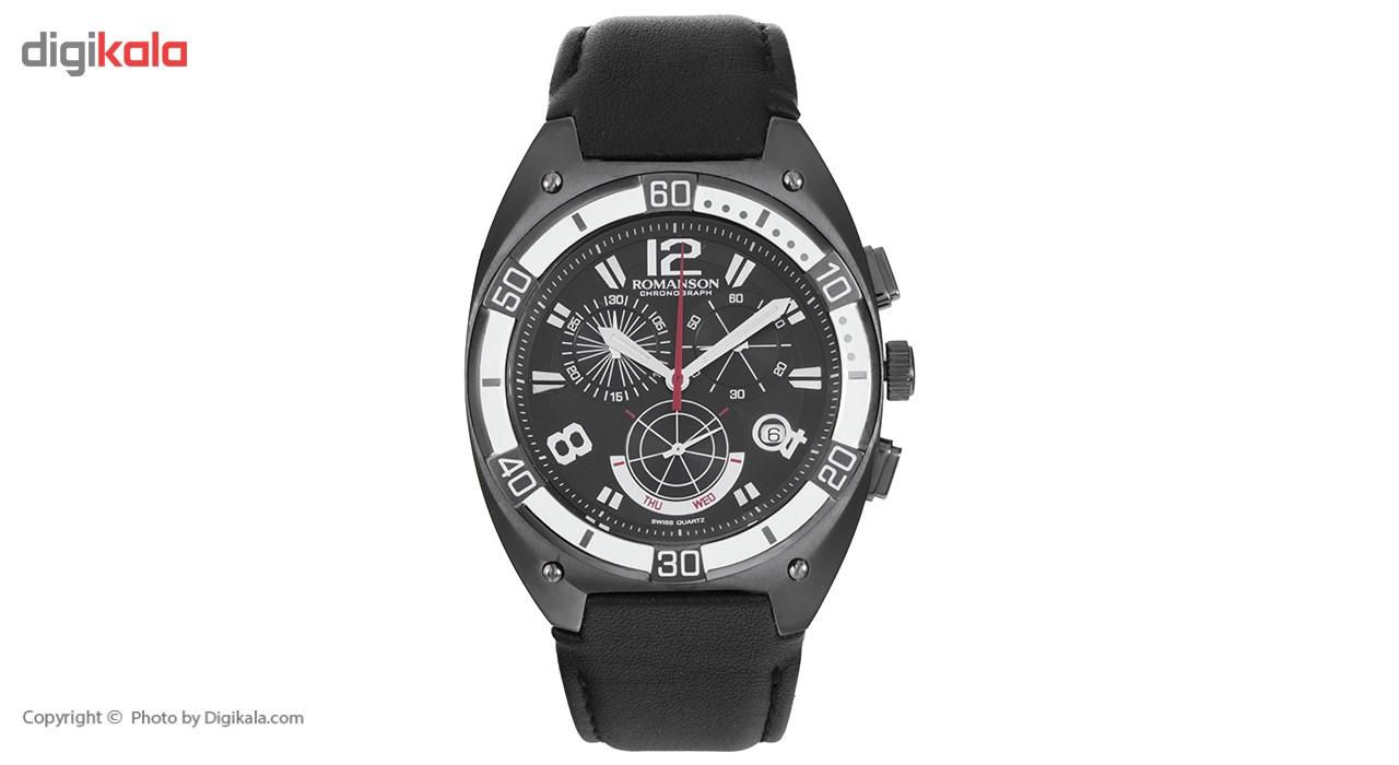ساعت مچی عقربه ای مردانه رومانسون مدل TL1260HM1BA32W -  - 2