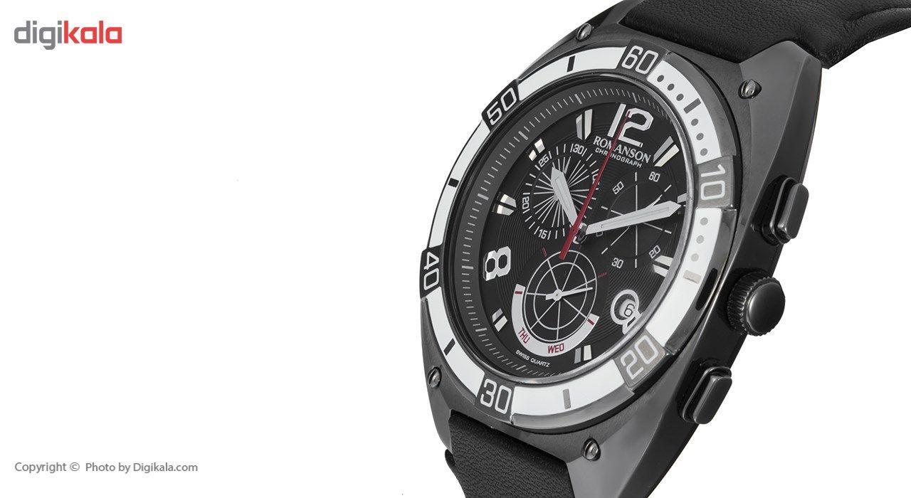 ساعت مچی عقربه ای مردانه رومانسون مدل TL1260HM1BA32W -  - 4