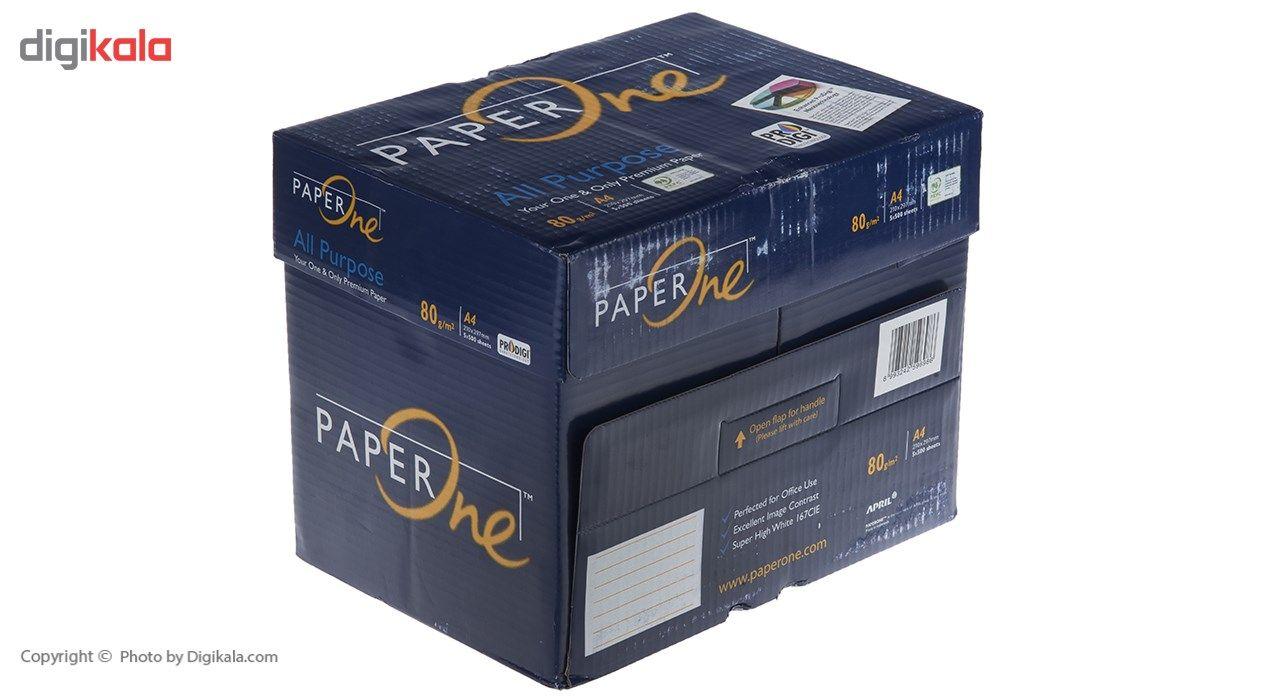 کاغذ 80 گرمی پیپر وان سایز A4 بسته 5 عددی main 1 4