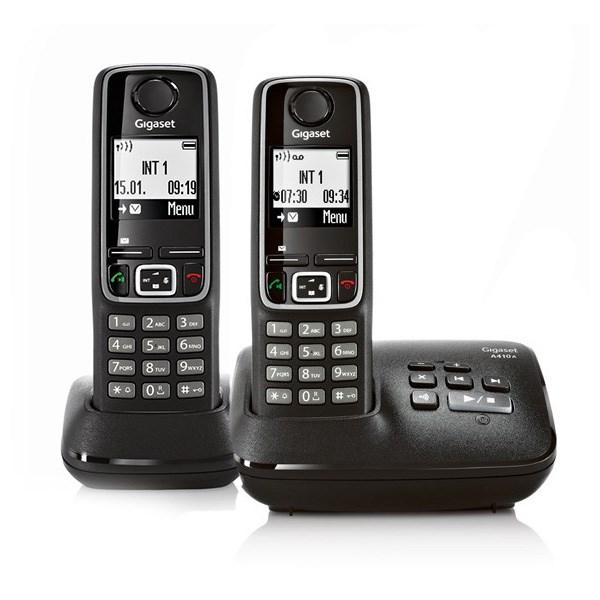 قیمت                      تلفن بی سیم گیگاست دو گوشی A410A