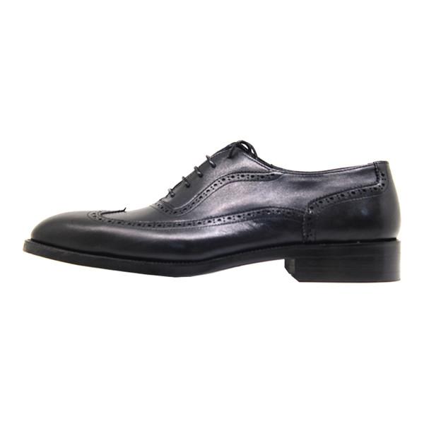 کفش مردانه چرم آرا مدل sh023