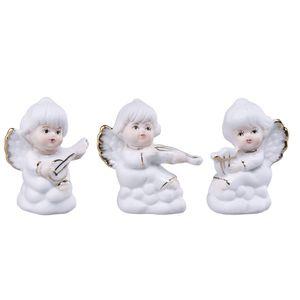 مجسمه پرانی مدل فرشته کد 381 مجموعه 3 عددی