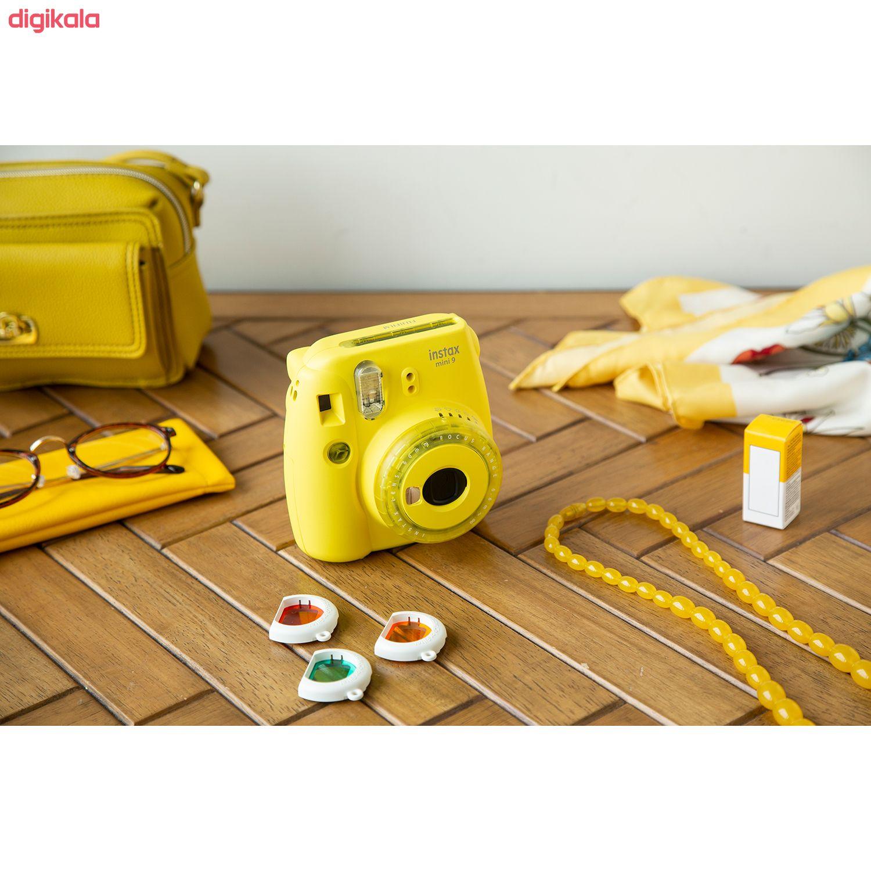 دوربین عکاسی چاپ سریع فوجی فیلم مدل Instax Mini 9 Clear main 1 34