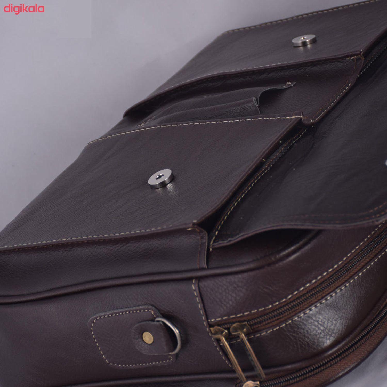 کیف اداری مردانه آدین چرم مدل DP82 main 1 5