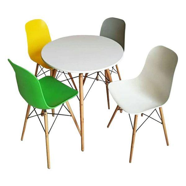 میز و صندلی ناهارخوری 4 نفره مدل288