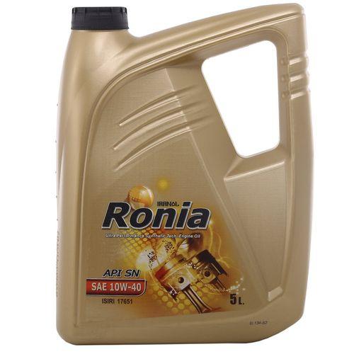 روغن موتور خودرو ایرانول مدل رونیا حجم 5 لیتر