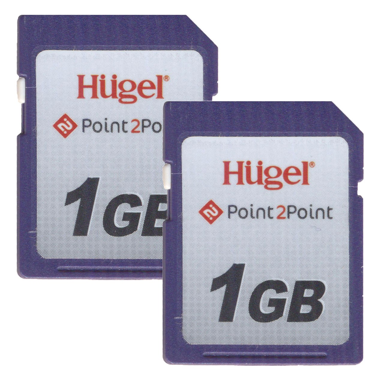 کارت حافظه SD هوگل مدل Point 2 Point 1 G کلاس 10 استاندارد UHS-I U3 سرعت 100MBps ظرفیت 1 گیگابایت بسته 2 عددی