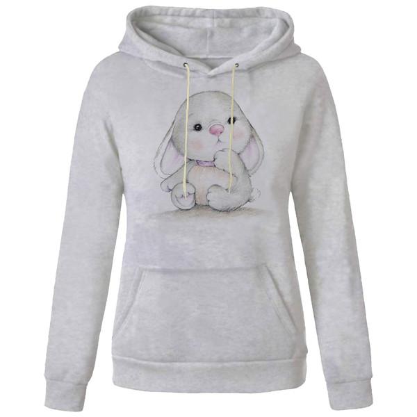 هودی زنانه مدل خرگوش کد AA599