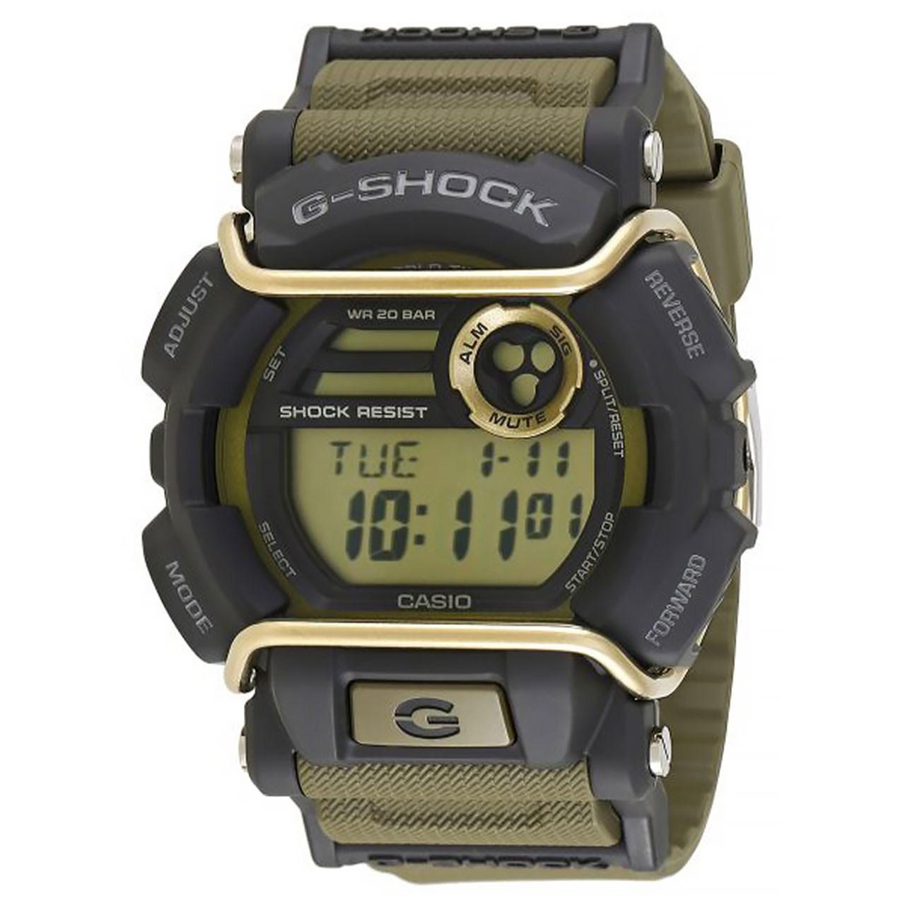 خرید ساعت مچی عقربه ای مردانه کاسیو جی شاک مدل GD-400-9DR