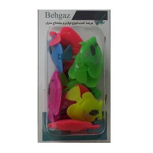 اسباب بازی زینتی بهگز مدل ماهی بسته10 عددی