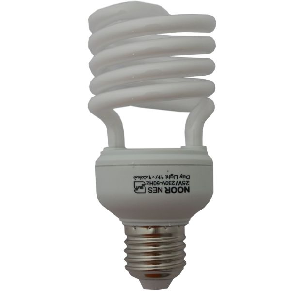 لامپ کم مصرف 25 وات نور مدل NES-HS-25W پایه E27
