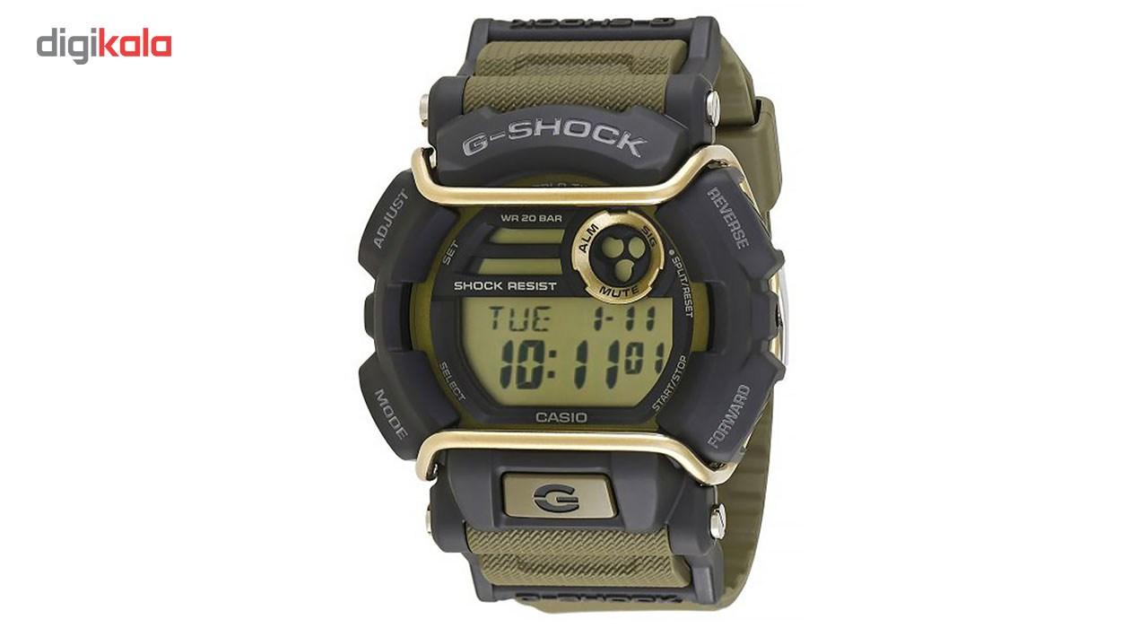 خرید ساعت مچی عقربه ای مردانه کاسیو جی شاک مدل GD-400-9DR | ساعت مچی