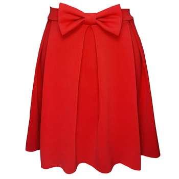دامن زنانه مدلdsp650r رنگ قرمز
