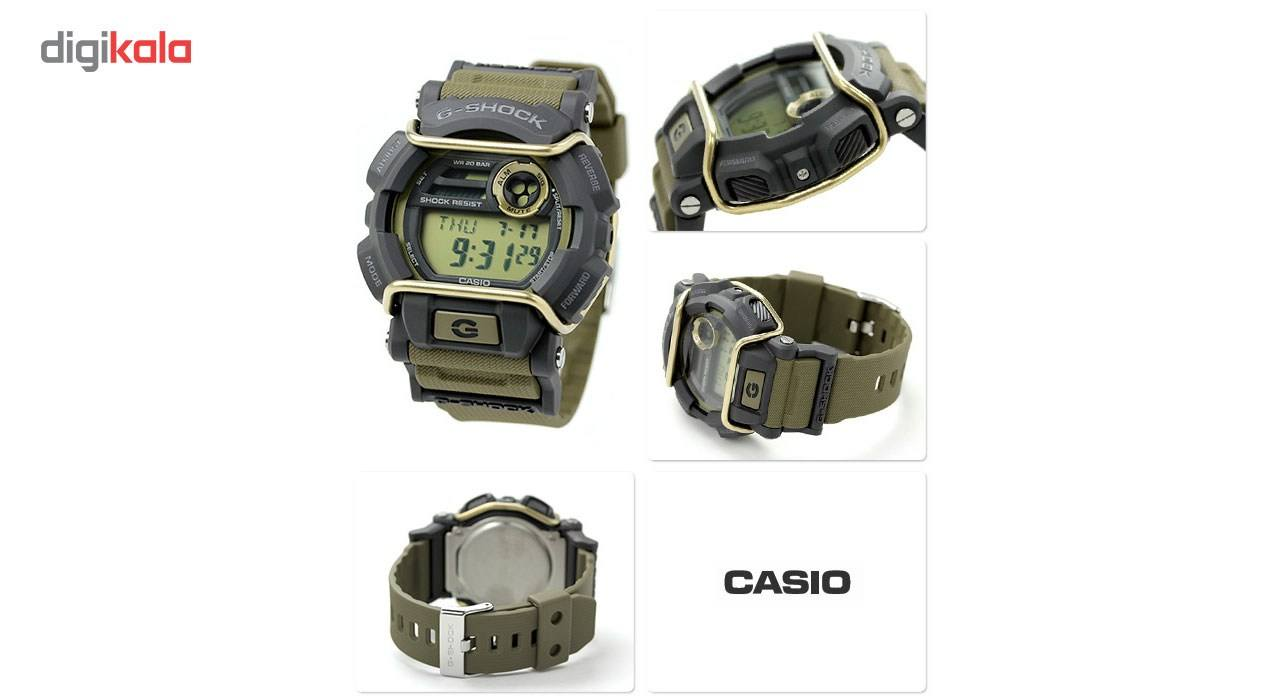 ساعت مچی عقربه ای مردانه کاسیو جی شاک مدل GD-400-9DR -  - 3
