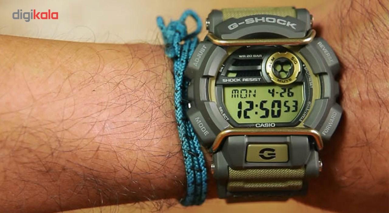 ساعت مچی عقربه ای مردانه کاسیو جی شاک مدل GD-400-9DR -  - 5