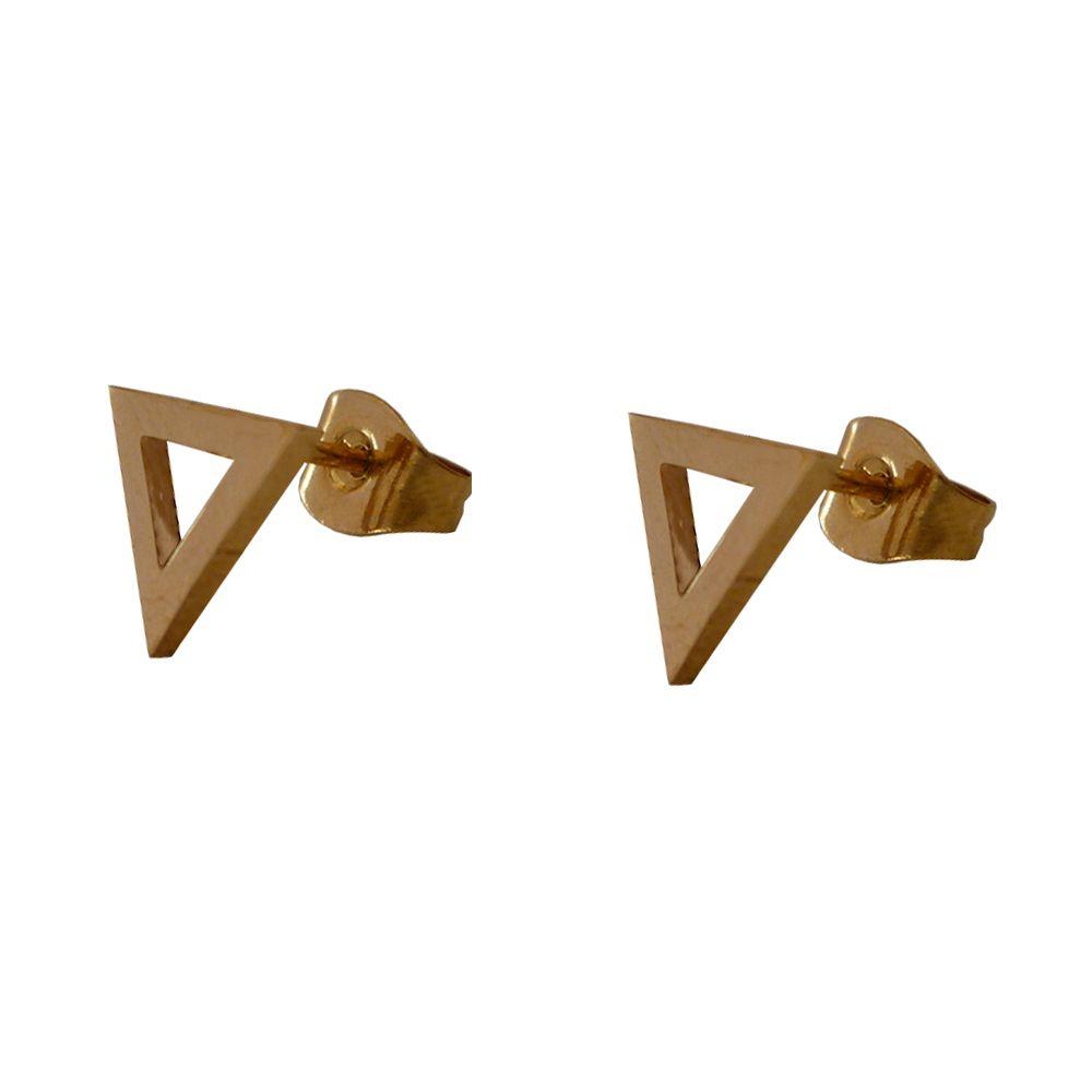 گوشواره زنانه طرح مثلث کد 018 main 1 2