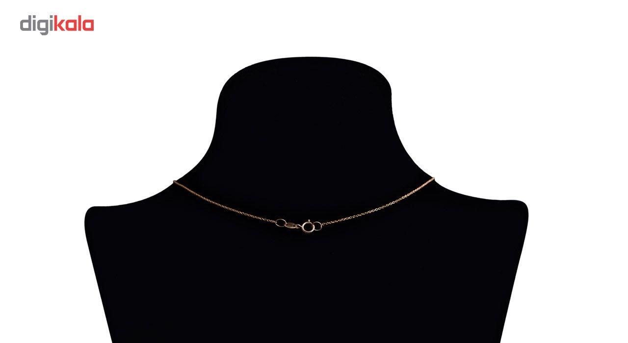 گردنبند طلا 18 عیار گرامی گالری مدل N003 -  - 4