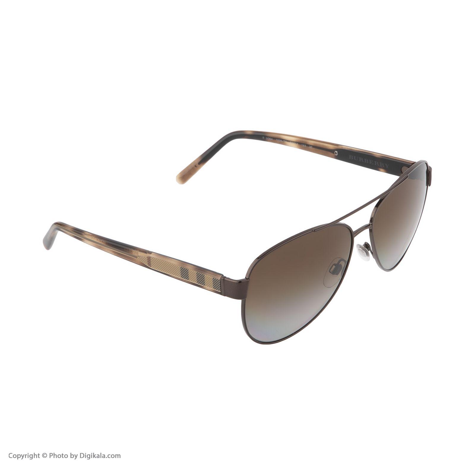 عینک آفتابی زنانه بربری مدل BE 3084S 1226T5 60   -  - 6